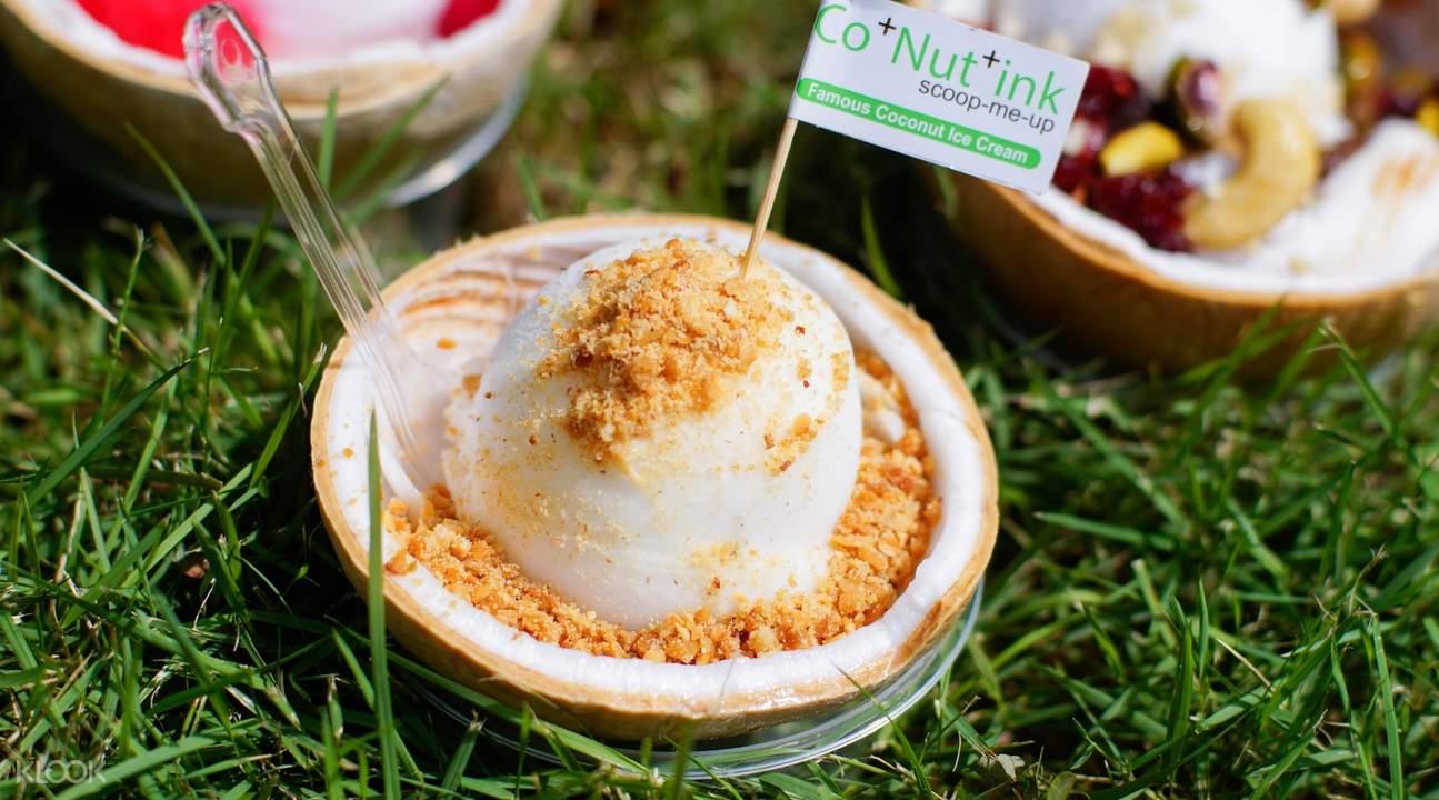 Co+Nut+Ink's Signature Coconut Ice Cream